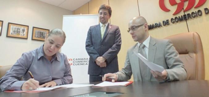 Cámara de Comercio de Cuenca concreta acuerdo con CERES