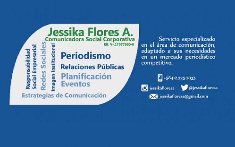 Jessika Flores A. (Consultora Social Corporativa)