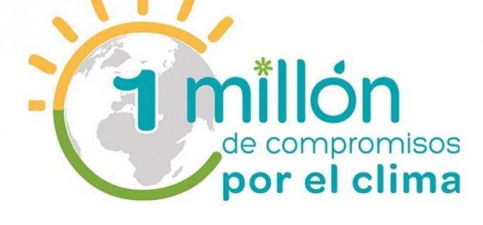 España alcanza un millón de compromisos por el clima