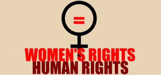 Derechos de las mujeres: secar el papel mojado