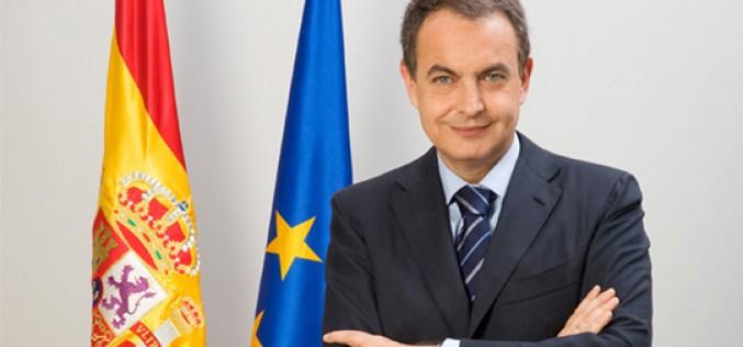 José Luis Rodríguez Zapatero, nuevo presidente del Foro de la Contratación Socialmente Responsable