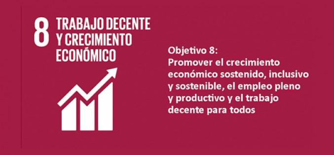 El ODS 8 «Trabajo decente y crecimiento económico» es inalcanzable para muchos países