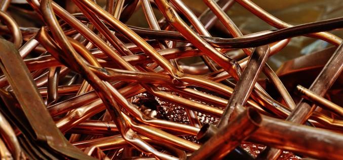 Casi un tercio del cobre utilizado a nivel mundial cada año proviene del reciclaje