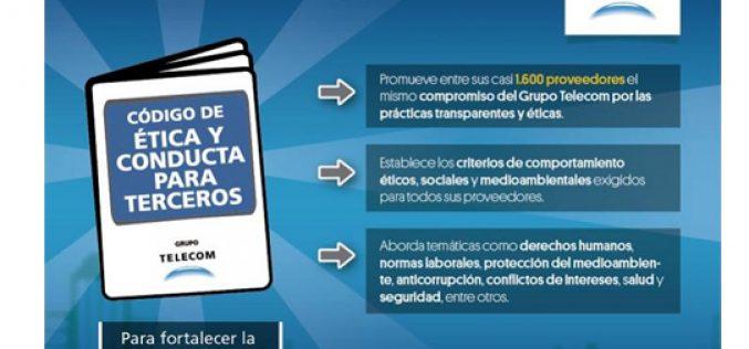 Grupo Telecom publicó un código de ética para sus proveedores