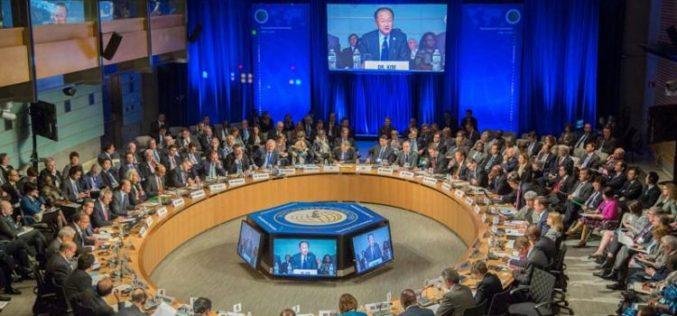 El Banco Mundial anunció que dejará de financiar el petróleo en 2019