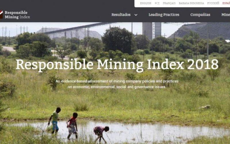 El Índice de Minería Responsable cuestiona el bajo desempeño de la industria en Derechos Laborales