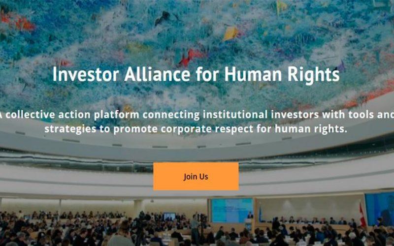 Nace la Alianza Global de Inversores por los DDHH