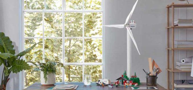 Lo tienes que comprar! LEGO tiene el Kit de turbina eólica con plásticos sostenibles