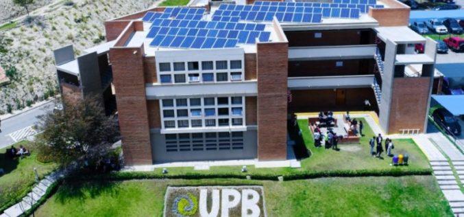 UPB instala planta fotovoltaica en su  campus para generar energía limpia