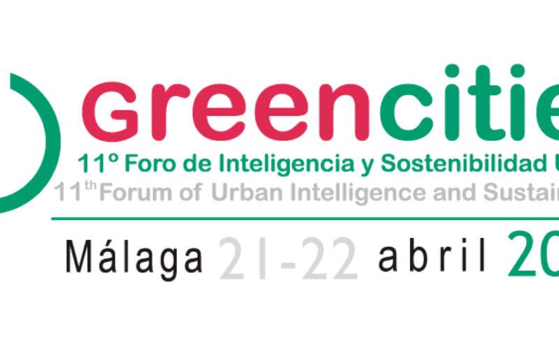 Greencities, Foro de Inteligencia y Sostenibilidad Urbana