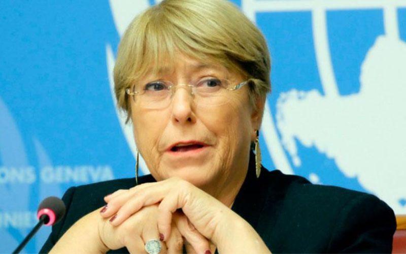 Bachelet advierte sobre el impacto que puede tener el Coronavirus en materia de DDHH