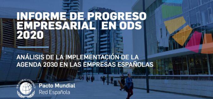 Pacto Mundial España: Informe de Progreso Empresarial 2018-2020 en el marco del Foro Político de Alto Nivel (HLPF)