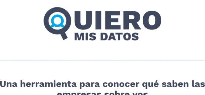 Argentina: La Asociación por los Derechos Civiles lanza aplicación para facilitar el acceso y control a los datos personales