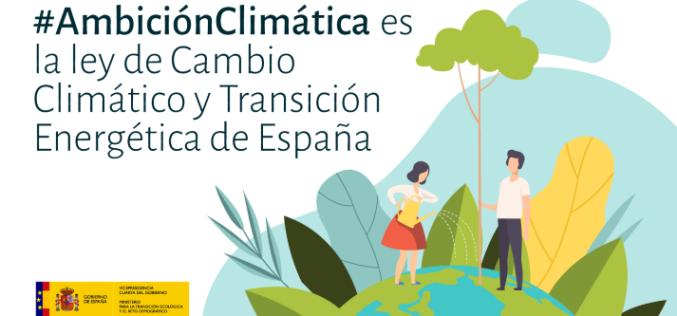 Día histórico para España: se aprobó el primer proyecto de ley de Cambio Climático y Transición Energética