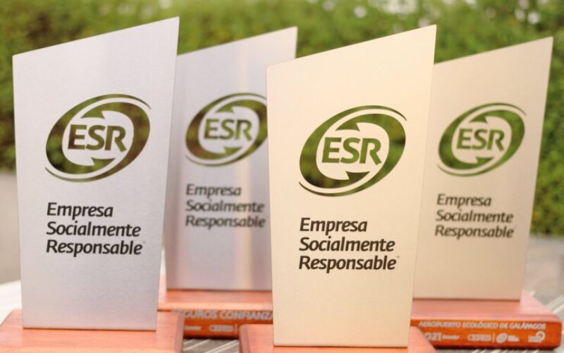 21 empresas en Ecuador obtuvieron Distintivo ESR® -Empresa Socialmente Responsable-