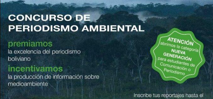 Bolivia: Lanzan el Premio al Reportaje sobre Biodiversidad 2021  con una nueva categoría y webinars de actualización