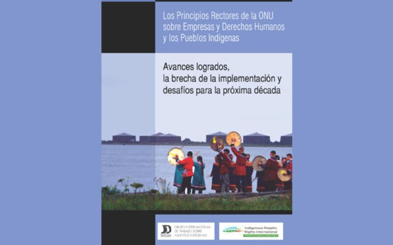 Documento: Los Principios Rectore de la ONU sobre Empresas y Derechos Humanos y los Pueblos Indígenas – Avances logrados, la brecha de la implementación y desafíos para la próxima década